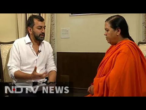 'Drought is an event for which its pointless to plan in advance': Uma Bharti