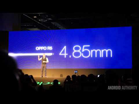 Oppo N3 and R5 Launch Event Rundown