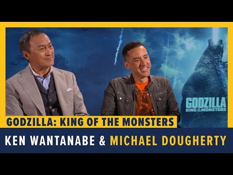 Ken Wantanabe & Michael Dougherty Talk GODZILLA: KING OF THE MONSTERS
