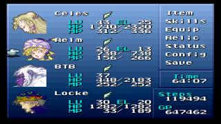 Final Fantasy VI (III) - Brave New World Mod + Nowea Difficulty Patch: Episode 54.
