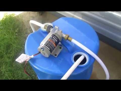 RV Utility Pump for Boondocking