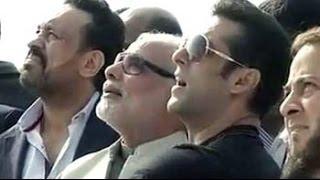 Salman Khan flies a kite with Narendra Modi