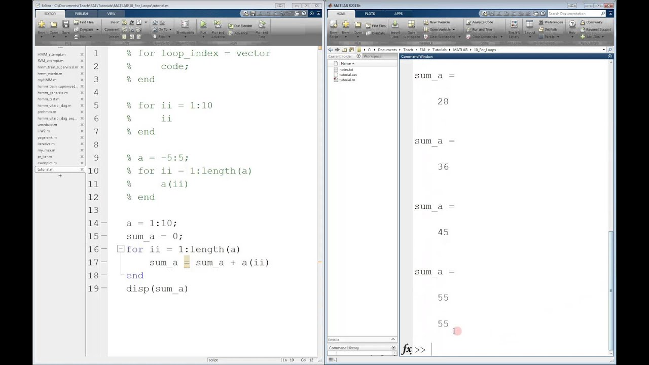 how to make matlab work faster