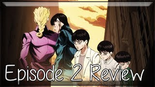 Taking Over the City - JoJo's Bizarre Adventure Golden Wind Episode 2 Anime Review