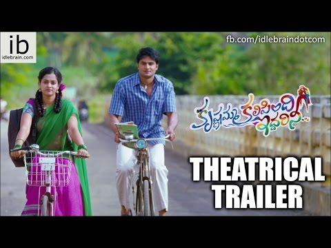 Krishnamma Kalipindi Iddarini theatrical trailer