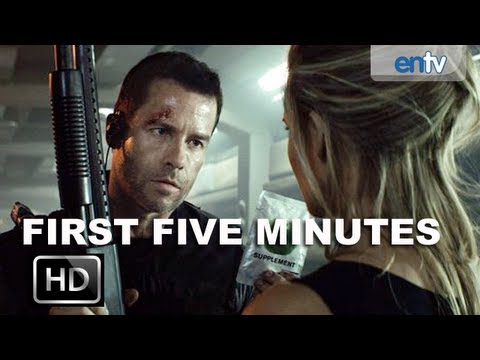 Lockout Movie Preview [HD]: First 5 Minutes, Guy Pearce and Maggie Grace Escape Prison: ENTV