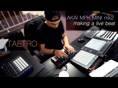 Create A Beat With Akai MPK Mini | Live Beat & Tips
