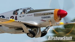 Military and Warbird Departures (Sunday Part 2) - EAA AirVenture Oshkosh 2019