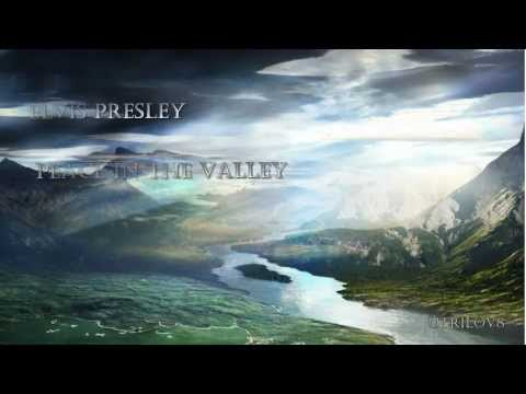 Elvis Presley - Peace In The Valley ( With Lyrics )