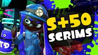 S+ 50 BLASTER Competitive Splatoon 2 Scrims w/ Subtitles! (SetToDestroyX)