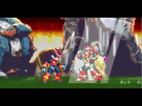 Megaman Zero Animação