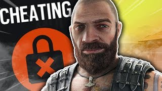 Everyone thinks I'm cheating in Rainbow Six Siege...