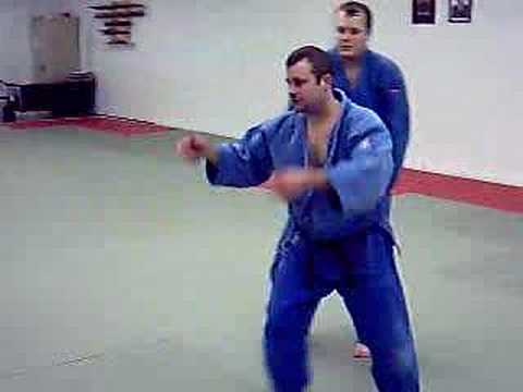 Judo Lesson Ouchigari (Major Inside Reap) by David Loshelder Image 1