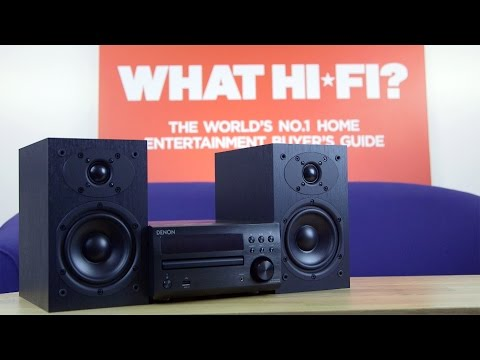 Denon D-M40DAB Stereo Micro System review MP3