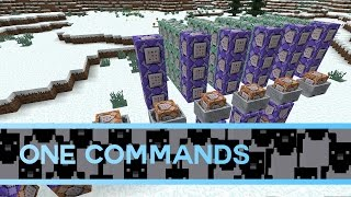 The Best Way to Make One Commands in Minecraft