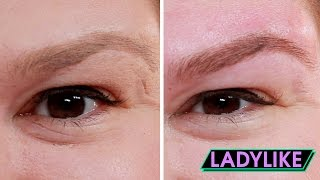 Women Get Their Ideal Eyebrows • Ladylike