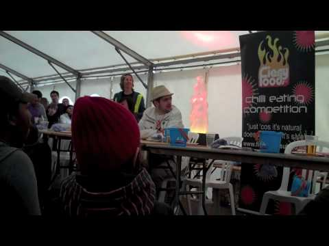 Fiery foods Chilli eating Competition Day 94 365 (2010)  [Part 4/4]
