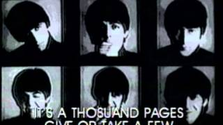 Watch Beatles Paperback Writer video