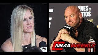 Dana White: Holly Holm Should Consider Retirement  (UFC 239)