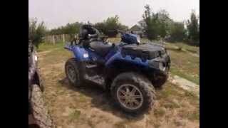 ATVClub.kz - Покатушки 08.07.2012. Two Polaris Sportsman Touring 850 LE + Base