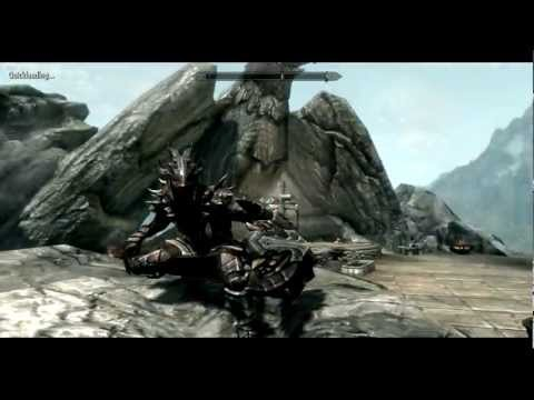 skyrim daedric helmet side view  Skyrim How To Get The