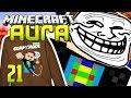 Minecraft AURA #21 - TROLOL :D Simon verwirren :D l Minecraft AURA GommeHD