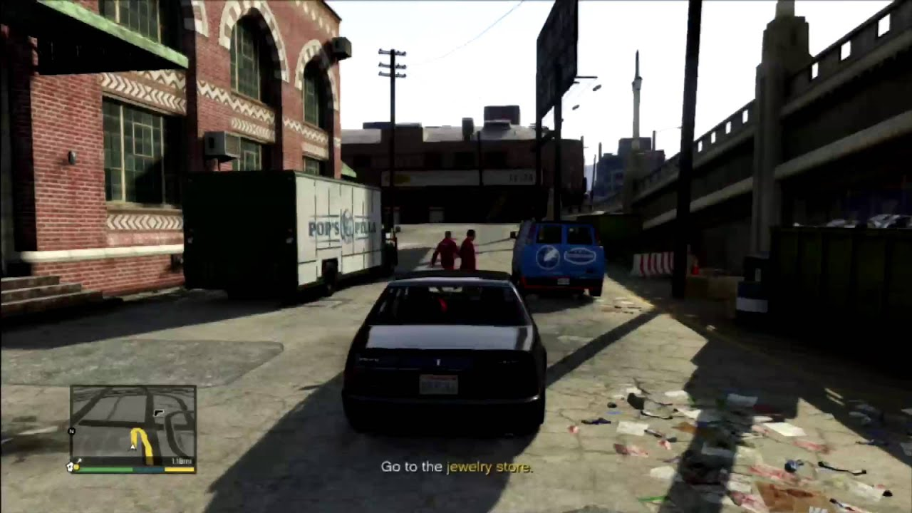 GTA V Jewelry Story Heist Most Money Best Crew YouTube