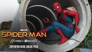 SPIDER-MAN: HOMECOMING - Superfun Hero Sneak Peek - Ab 13.7.2017 im Kino!