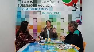 Papo Reto - AgoraVale recebe o Prefeito de Pindamonhangaba, Dr. Isael Domingues