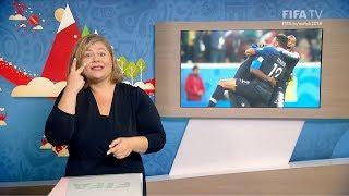 FIFA WC 2018 - FRA vs. BEL – for Deaf and Hard of Hearing - International Sign