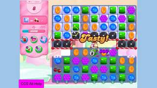 Candy Crush Saga Level 4384 NO BOOSTERS Cookie