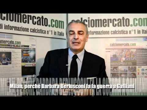 Milan, perchè Barbara Berlusconi fa la guerra a Galliani