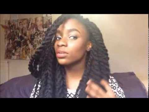 HOW TO - Jumbo Kinky Twists