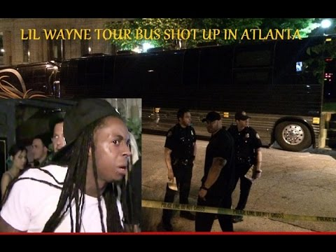 Lil Wayne Tour Bus Shot Up After Leaving Club in Atlanta (Young Thug HomeTown)