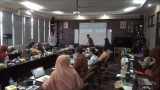 (08) Telkom University - Workshop Public Speaking 2016 bersama Ghani Kunto