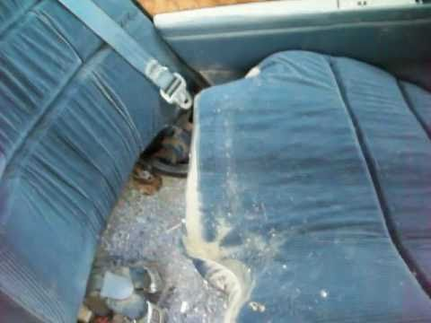 How To Remove A Back Seat Youtube