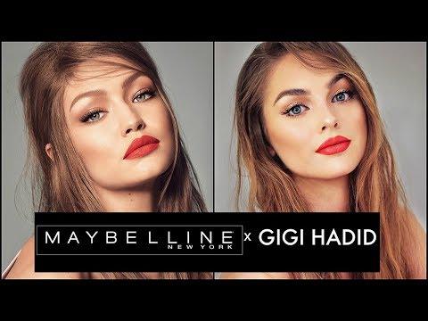 GIGI HADID x MAYBELLINE Review   West Coast GLOW Tutorial & First Impressions