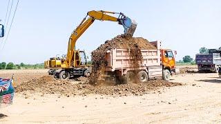 Idiot workers full overload excavator 2019.