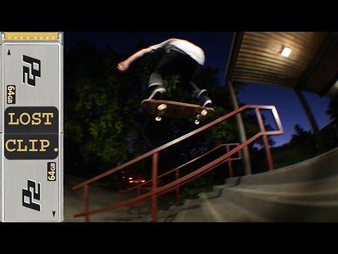Greg Lutza 270 Noseblunt Lost & Found Skatebparding Clip #141