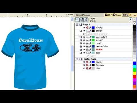 Using Layers in CorelDraw