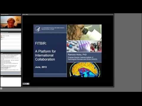 11 R Hicks (NINDS) - FITBIR Informatics System - a Platform for International Collaboration