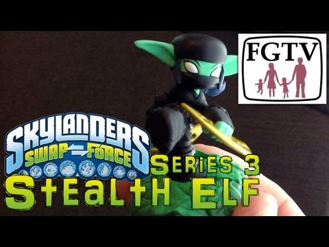 Skylanders Swap Force Stealth Elf Series 3 - Gameplay Hands-On at E3