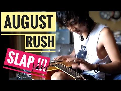 jamphe johnson taphey - cara bermain Gendang (August Rush Guitar Slap)