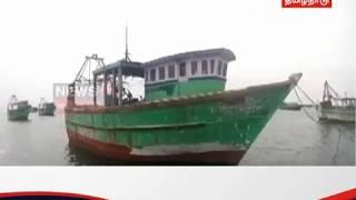 எல்லை தாண்டி மீன் பிடித்ததாக புதுக்கோட்டை மீனவர்கள் 8 பேர் கைது