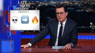 Stephen Deciphers The Teenage Emoji Code
