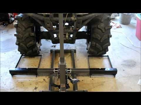 Tool Review:  Pittsburgh Riding Mower / Atv Lift Jack 60395 / 61523