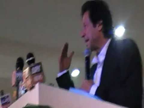 Imran Khan Speech Against Malik Riaz - Jalsa Paris - Azad Dunya TV - www.azaddunya.com