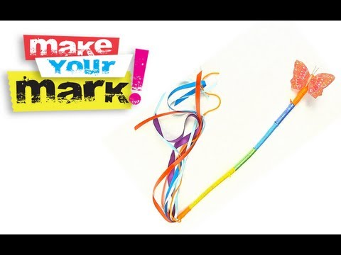 How To Make A Magic Wand DIY