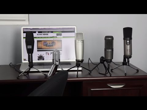 USB Microphone Shootout: AT2020USB. Meteor Mic. Studio1. Trio. & C01U