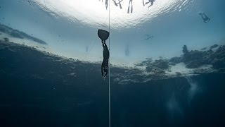 Alessia Zecchini World Record Dive to 102m CWT